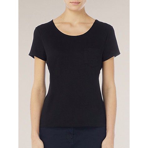 Buy Kaliko Jersey Tee, Black Online at johnlewis.com