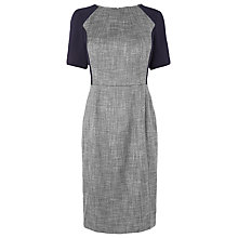 Buy L.K. Bennett Darcie Seam Detail Dress, Navy Online at johnlewis.com
