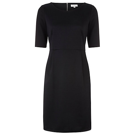 Buy Kaliko Textured Dress, Black Online at johnlewis.com