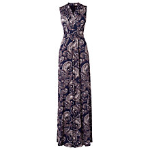 Buy Phase Eight Paisley Jumpsuit, Navy/Stone Online at johnlewis.com