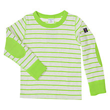 Buy Polarn O. Pyret Girls' Stripy Long Sleeve Top Online at johnlewis.com