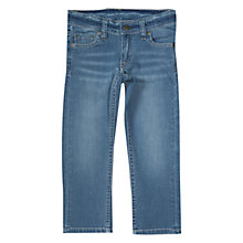 Buy Polarn O. Pyret Boys' Slim Fit Denim Jeans Online at johnlewis.com