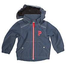 Buy Polarn O. Pyret Boys' Hooded Denim Style Jacket, Blue Online at johnlewis.com