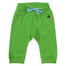 Buy Polarn O. Pyret Baby Jogging Bottoms, Apple Green Online at johnlewis.com