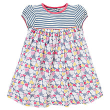 Buy John Lewis Heart & Stripe Jersey Dress, Multi Online at johnlewis.com
