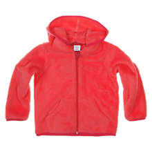 Buy Polarn O. Pyret Pile Hooded Fleece, Pink Online at johnlewis.com
