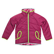 Buy Polarn O. Pyret Reversible Jacket, Purple Online at johnlewis.com