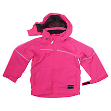 Buy Polarn O. Pyret Baby Waterproof Coat, Pink Online at johnlewis.com