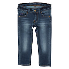 Buy Polarn O. Pyret Baby Slim Fit Jeans, Blue Online at johnlewis.com