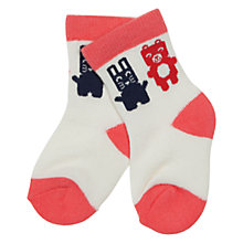 Buy Polarn O. Pyret Baby Animal Theme Socks Online at johnlewis.com