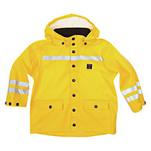 Buy Polarn O. Pyret Baby Waterproof Fireman Coat, Yellow Online at johnlewis.com
