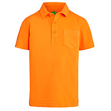 Buy John Lewis Boy Garment Dyed Polo Shirt Online at johnlewis.com