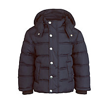 Buy John Lewis Boy Store Padded Jacket, Navy Online at johnlewis.com