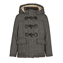 Buy John Lewis Boy Augusta Duffle Coat, Navy Online at johnlewis.com