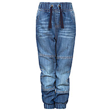 Buy John Lewis Boy Denim Jogger Jeans, Blue Online at johnlewis.com