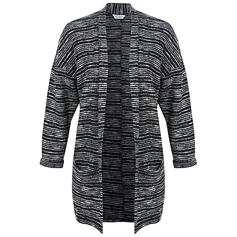 Buy Miss Selfridge Textured Cardigan, Black Online at johnlewis.com