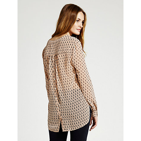Buy Mint Velvet Grazia Print Blouse, Multi Online at johnlewis.com