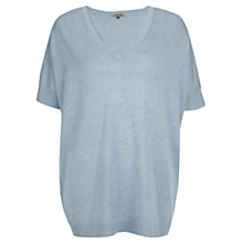 Buy Jigsaw V-neck Slouchy Sweater Online at johnlewis.com