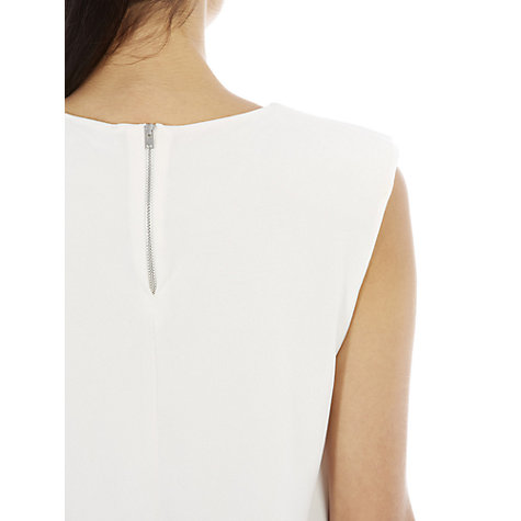 Buy Warehouse Shoulder Pad Shell Top Online at johnlewis.com