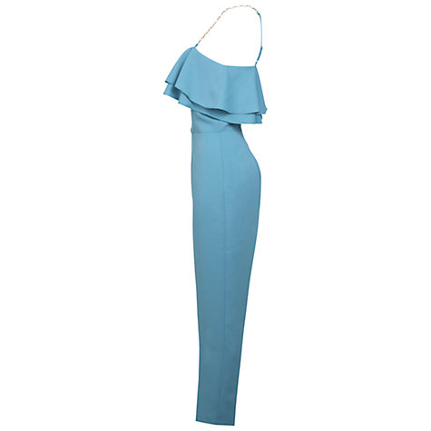 Buy Miss Selfridge Embellished Strap Jumpsuit Online at johnlewis.com