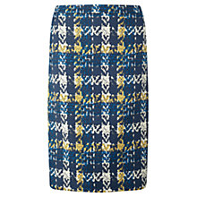 Buy Jigsaw Manhattan Print Skirt, Blue Online at johnlewis.com