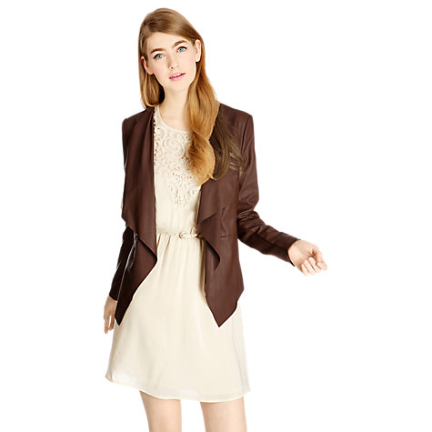 Buy Oasis Waterfall Drape Cardigan Online at johnlewis.com