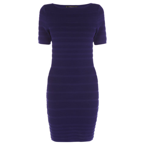 Buy Coast Jessie Knitted Dress, Violet Online at johnlewis.com