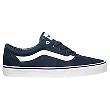 Buy Vans Milton Twill Canvas Trainers Online at johnlewis.com