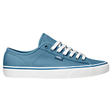 Buy Vans Ferris Canvas Trainers, Blue Online at johnlewis.com