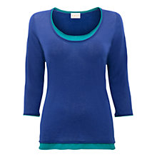 Buy East Double Layer Gauze Jumper, Nautical Online at johnlewis.com