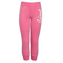 Buy Animal Girls' Logo Joggers, Pink Online at johnlewis.com