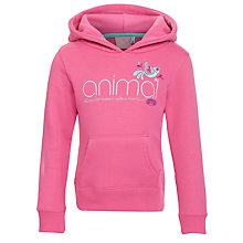 Buy Animal Girls' Raegan Logo Hoodie Online at johnlewis.com