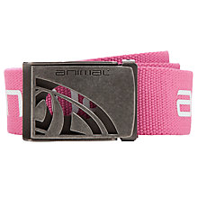 Buy Animal Alessano Childrens' Belt, Pink Online at johnlewis.com