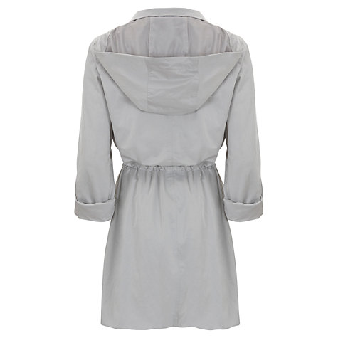 Buy Mint Velvet Asymmetric Parka Online at johnlewis.com