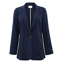 Buy East Stitch Boyfriend Jacket, Ink Online at johnlewis.com