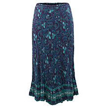 Buy East Fresco Jal Print Skirt, Purple Online at johnlewis.com