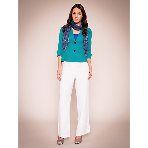 Buy East Casual Linen Jacket Online at johnlewis.com