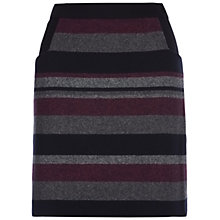 Buy Hobbs Songlines Skirt, Midnight Blue Multi Online at johnlewis.com
