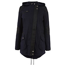 Buy Warehouse Panel Parka, Navy Online at johnlewis.com