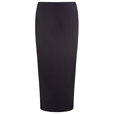 Buy Precis Petite Textured Pencil Skirt, Navy Online at johnlewis.com