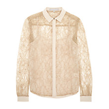 Buy Fenn Wright Manson Miranda Lace Shirt, Nautral Online at johnlewis.com