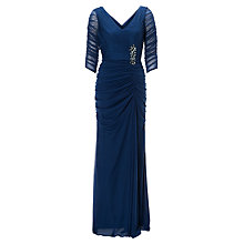 Buy Adrianna Papell Drape Covered Gown Online at johnlewis.com