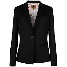 Buy Ted Baker Quinne Timeless Suit Jacket, Black Online at johnlewis.com