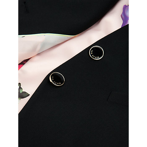 Buy Ted Baker Quinnew Timeless Suit Waistcoat, Black Online at johnlewis.com