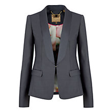 Buy Ted Baker Lael Shiny Lavanta Suit Jacket, Ash Online at johnlewis.com