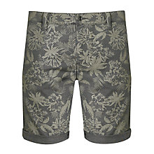Buy BOSS Orange Sairy Shorts, Navy/Khaki Online at johnlewis.com
