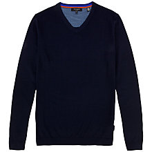 Buy Ted Baker Yohan Wool V-Neck Jumper Online at johnlewis.com
