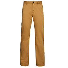 Buy Timberland Lynnwood Straight Leg Chinos, Medal Bronze Online at johnlewis.com