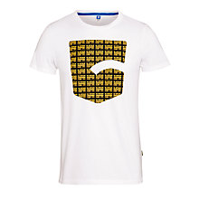 Buy G-Star Raw Jordan Graphic Print T-Shirt, White Online at johnlewis.com
