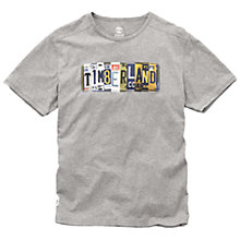 Buy Timberland On Road Print T-Shirt, Medium Grey Online at johnlewis.com